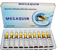 Megaquin Quinine Dihydrochloride Injection