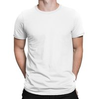 Plain Round Neck T Shirt