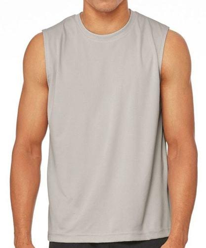 Plain Sleeveless T Shirt