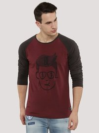 Raglan Printed T Shirts