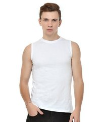 100% Cotton Round Neck Sleeveless T Shirts