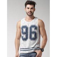 100 % Cotton Printed Sleeveless T-shirts