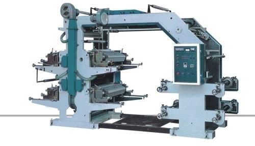 Four Color Flexographic Printing Machine