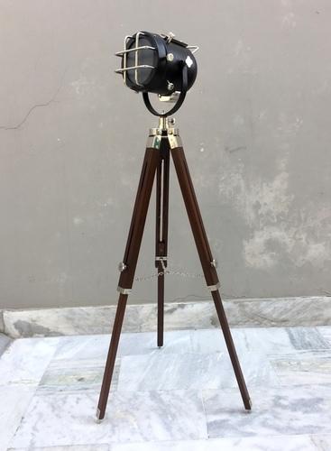 Two Tone Nautical Floor Lamp