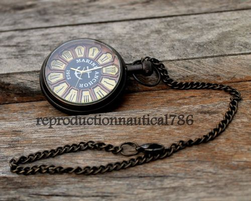 Solid Brass Antique Working Watch