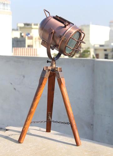 Copper Desk Spotlight/Lamp
