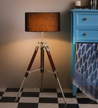 Designer Nautical Tripod Floor Lamp Marine Studio Corner Lamp