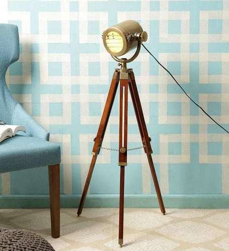 Antique Floor Lamp Nautical Gift