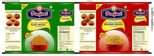 Poojari Namkeen Packaging Pouches