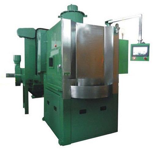 rotary table type deflashing machine