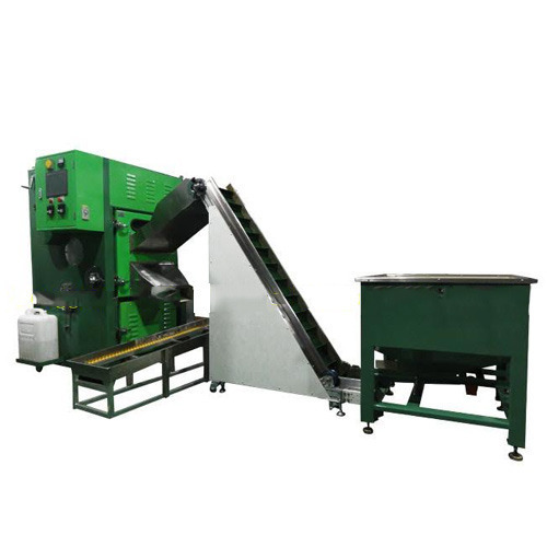 Automatic Tumbling Belt Deflashing Machine