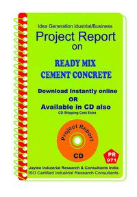 Ready Mix Cement Concrete Manufacturing Project Report eBook