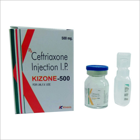Kizone 500 Injection (Ceftriaxone Injection)