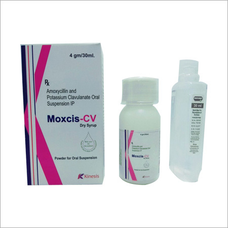 Moxcis - CV Dry Syrup (Amoxycillin and Potassium Clavulanate Oral Suspension  (5gm/30ml))