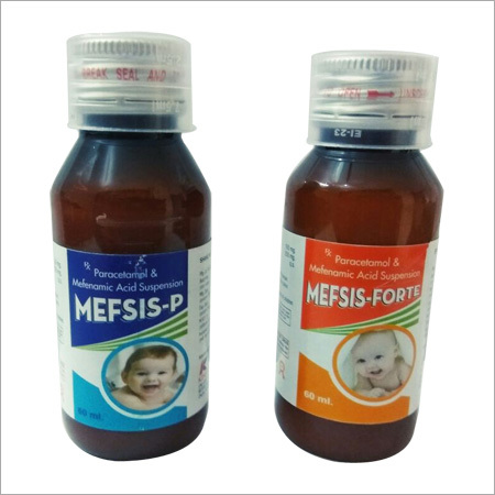 Mefis P (Paracetamol And Mefnamic Acid Suspension