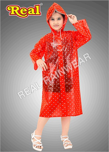 Seagull girls raincoat