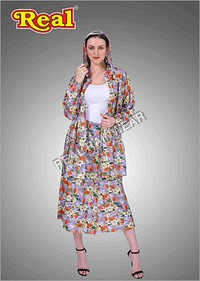 Ladies Rain Skirt Suit