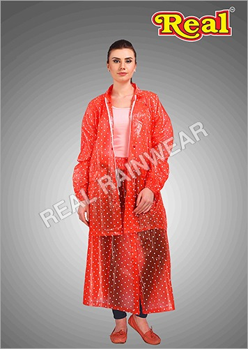 Long Rain Skirt Suit