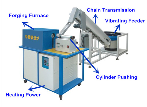 Steel Rod Automatic Hot Forging Machine