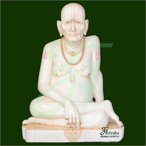 Marble Swami Akkalkot Statue
