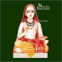 Marble Adi Guru Shankaracharya Statue