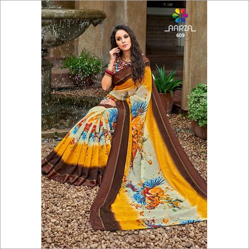 Ladies Trendy Print Saree