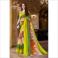 Ladies Modern Print Saree