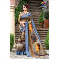 Designer Digital Print Saree