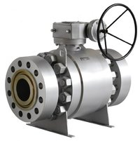 Trunnion-mounted Ball Valves Fire safe