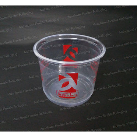 Printed Plastic Food Containers