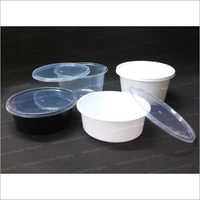 Round Curry Containers