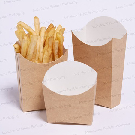 French Fries Paper Holder