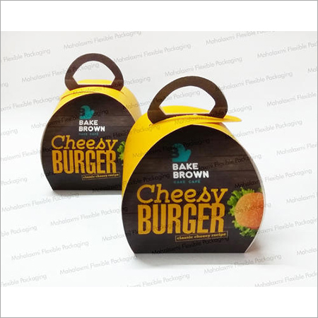 Burger Box with Handle