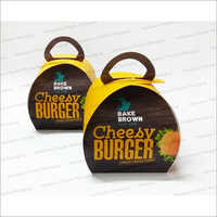 Burger Box with Handle