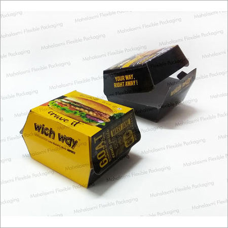Burger Paper Box