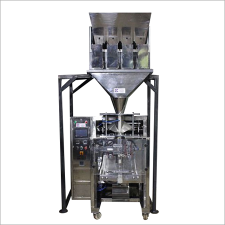 Collar type with Four Head Weigh Filler Machine