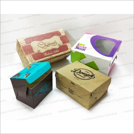 Printed Pastry Box
