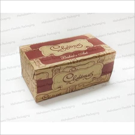 Kraft Paper Pastry Box