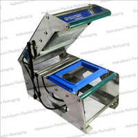 Rectangle Plastic Tray Sealing Machine