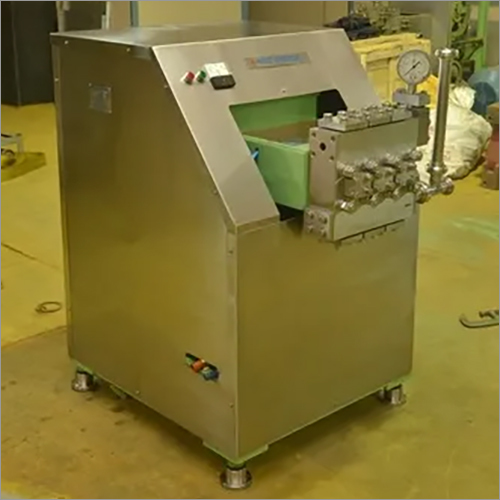 Spray Dryer Homogenizer