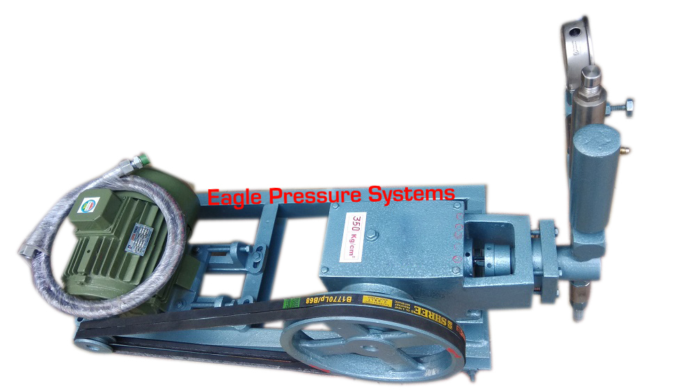 Electric Driven Hydro Test Pump