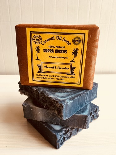 Coconut Oil Soap - Charcoal