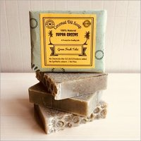 Coconut Oil Soap - Green Fresh Tulsi