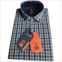 Mens Color Check Shirt