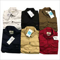 Coloured Cotton Shirt