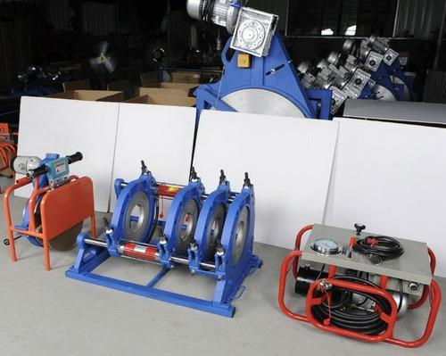 Hydraulic bud fusion welding machine