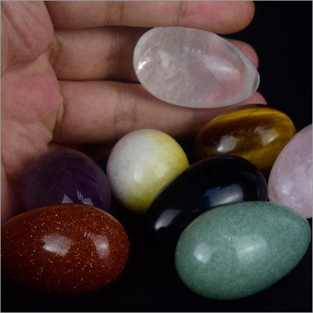Multi Gemstone Egg