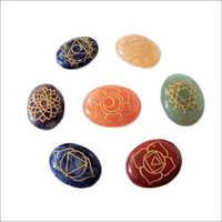 Seven Chakra Ovals Reiki Sets