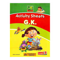 Smile Activity Sheets G.K Level - 1 Book