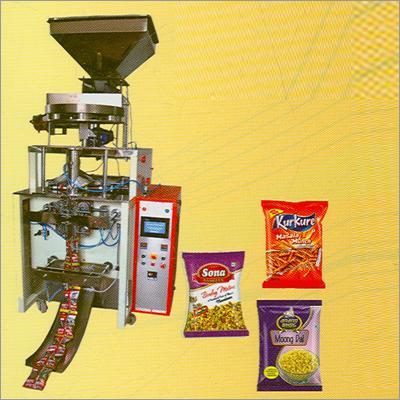 Pneumatic Collar Type Packaging Machine (PLC Based)